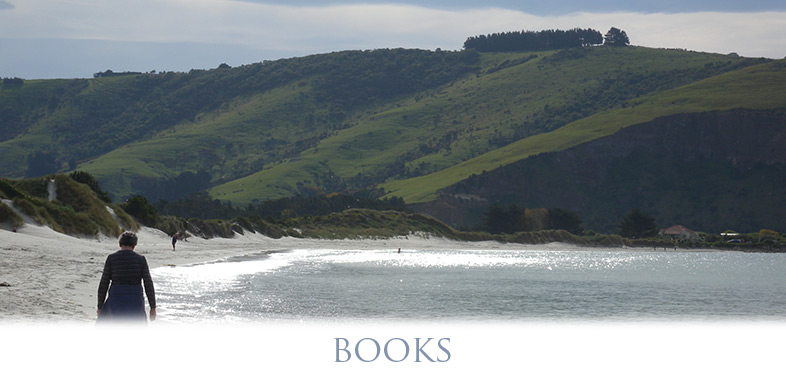 books by Jackie Ballantyne - Photograph Aromoana Beach New Zealand 2013